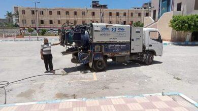 Photo of دمياط تشهد حملات مكثفة لتطهير وتعقيم المنشآت الحكومية والخدمية والمدارس