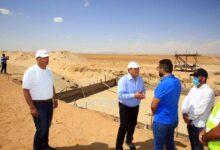 Photo of بدء تركيب أول برج إتصالات داخل أراضى مشروع ال ١.٥ مليون فدان بمنطقة المغرة