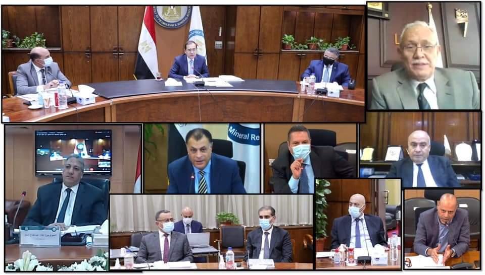 وزير البترول: اعتماد نتائج أعمال شركة جنوب الوادى للعام المالى 2020/2021