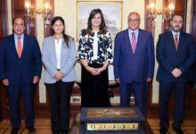 Photo of وزيرة الهجرة تبحث التعاون مع الجامعة البريطانية للمشاركة في دعم تنفيذ عدد من المبادرات