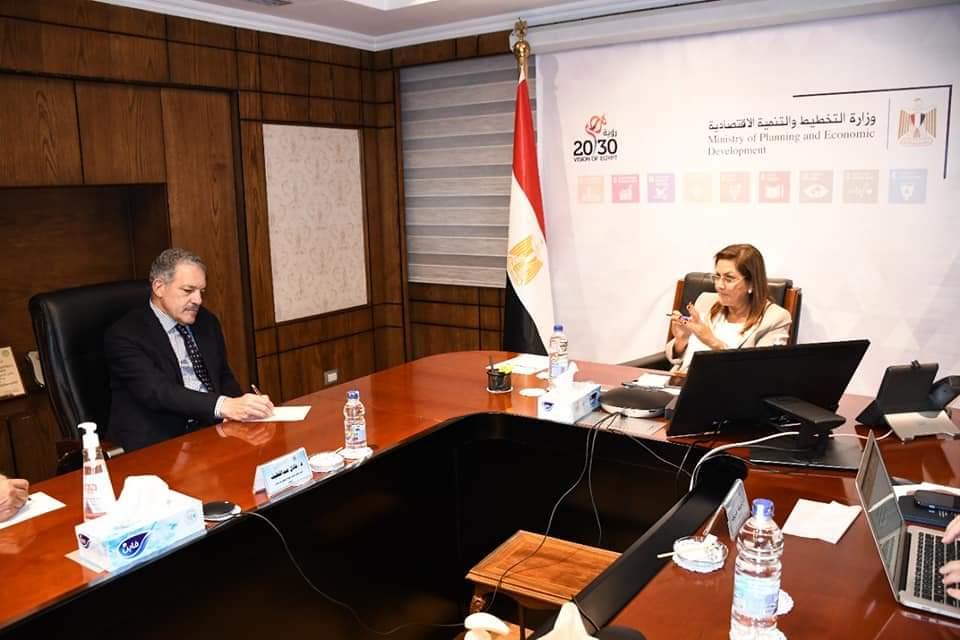 السعيد تبحث تنفيذ تكليفات السيد رئيس الجمهورية الخاصة بتقرير التنمية البشرية في مصر 2021