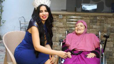 Photo of ملكة جمال العرب ٢٠٢٠ إلهام بالمخفي تزور الأيتام ودور رعاية كبار السن