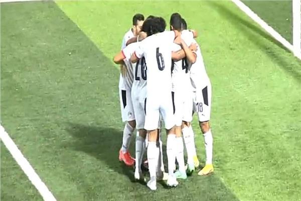 رمضان صبحى يحرز الهدف الثالث لـ منتخب مصر فى شباك ليبيا