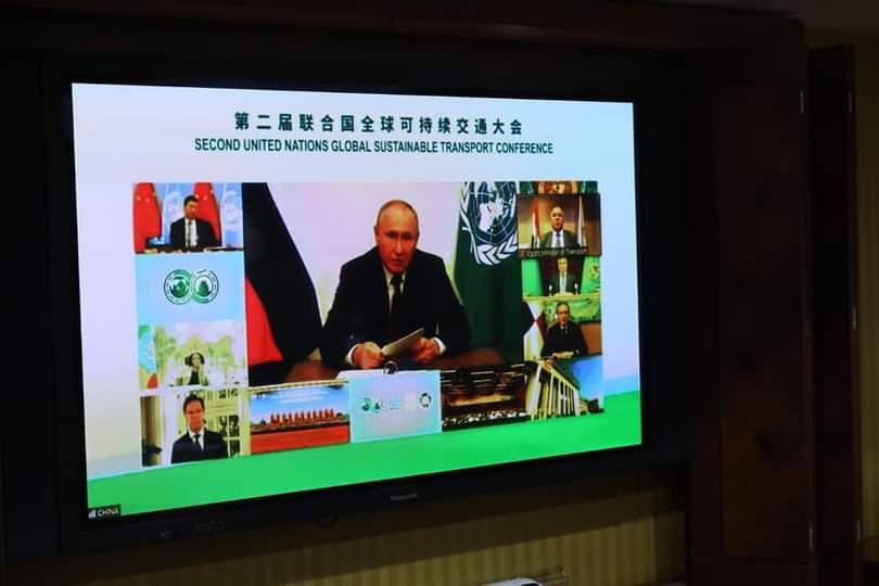 الوزير يشارك عبر تقنية الفيديو كونفرانس في الجلسة الافتتاحية لمؤتمر الأمم المتحدة الثاني