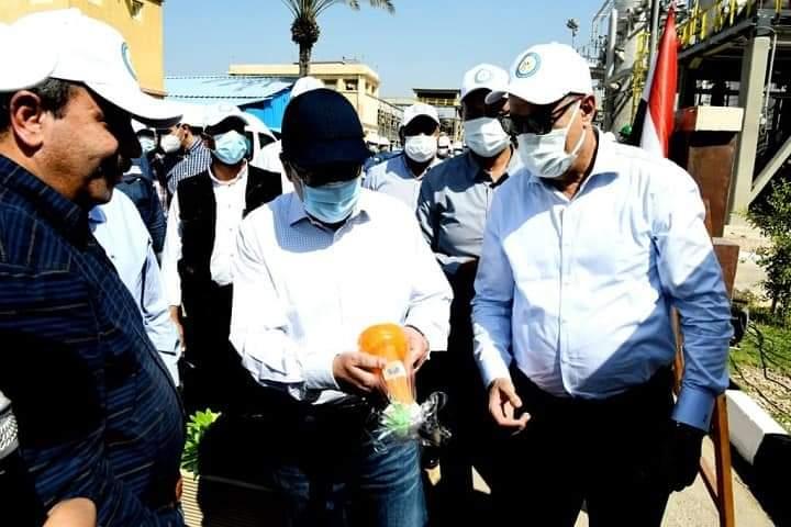 الملا يؤكد على أهمية البناء على ما تملكه شركات تشغيل مصافى التكرير المصرية