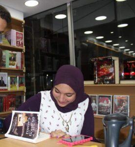 مريم عبد الحكيم.. مباراة كرة قدم تكتشف موهبتها في الكتابة